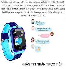 Đồng hồ định vị và quản lý trẻ em Q12 chống nước | Đồng Hồ Thông Minh Định  Vị Trẻ Em Q12 Có Tiếng Việt , | Đồng Hồ Định Vị Trẻ