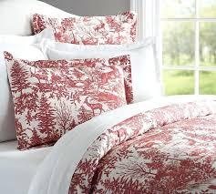 mira paisley duvet cover king red dark