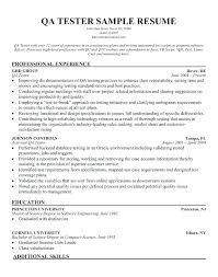 Quality Assurance Analyst Resume Awesome Qa Analyst Sample Resume Kenicandlecomfortzone