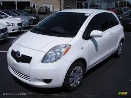2007 Polar White Toyota Yaris 3 Door Liftback #13825235 | GTCarLot ...