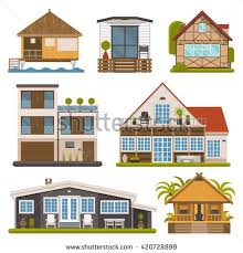 Rent house set. Modern apartments and suites, private cabins, wooden  bungalows, chalet