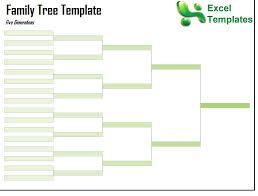 Family Tree Template | Free Family Tree Template