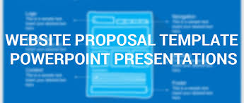 Project Proposal Presentation Ppt How Website Proposal Template Powerpoint Presentations Can
