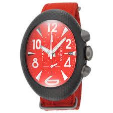 locman watches jomashop locman nuovo carbonio red dial red cordura fabric men s watch