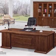 wooden office desks. Interesting Desks Popular Big Wooden Office Table With Side Tablelarge Executive Desk A616 To Wooden Office Desks