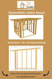 Gerätehaus Selber Bauen Bauplan Als Pdf Zum Download Als Hütte