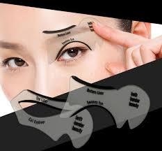 dhl cat eye stencils makeup stencil eyeline models template eyeliner card auxiliary fashion smoky eyeliner tool eye brow eyebrow wax from theoneseller