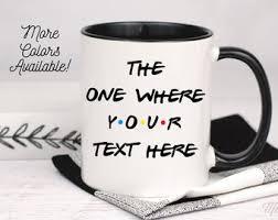 Thefriendlycup > friendly cup hey! Friends Mug Etsy