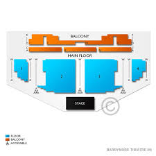 Barrymore Theatre Wi 2019 Seating Chart