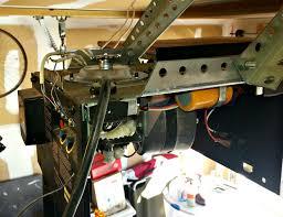 gear kit garage door gears up close