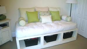 diy daybed with storage white platform daybed with open storage underneath for basket pics charming black diy daybed