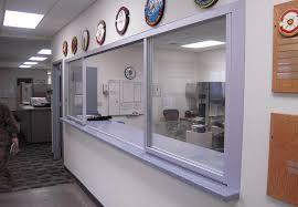 Sliding office window Bank Teller Reception Window Space Plus Reception Glass Windows Sliding Pass Through Windows Space Plus