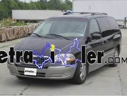 trailer wiring harness installation 2002 ford windstar video trailer wiring harness installation 2002 ford windstar video etrailer com