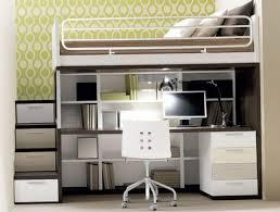 modern loft beds with desks