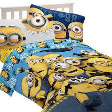 Minion Bedroom Decor Despicable Me Minions Mishap Full Comforter Set Babiesrus