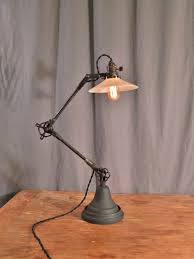 industrial style lighting. vintage industrial style desk lamp lighting