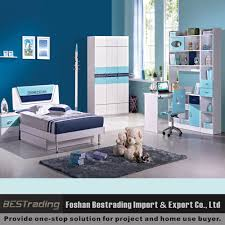 Mdf Bedroom Furniture Modern Boys Bedroom Furniture Mdf Kids Double Bed Set Buy Kids