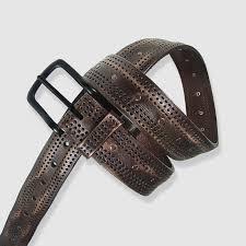 leyva pure leather belt brown
