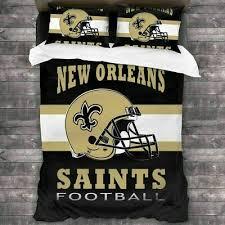 5pc nfl new orleans saints bedding set