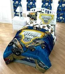 monster truck bedding sets trucks set best jam comforter mash grave full toddler bed sheets monster truck bedding