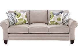 Lilith Pond Taupe Sofa 499 99 88W x 38D x 37H Find affordable