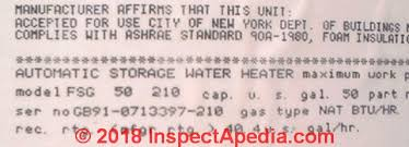 A O Smith Water Heater Age Or Manuals Ao Smith