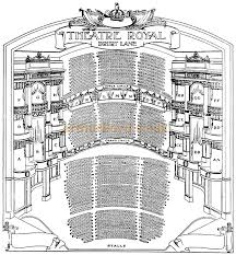 Theatre Royal Drury Lane Seating Chart The Theatre Royal Drury Lane Main Entrance Situated On