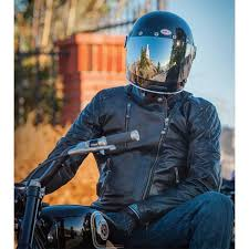 roland sands clash leather jacket black