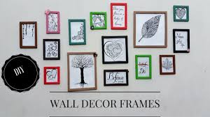 diy room decor wall decoration frames how to decorate bedroom wall how to make paper frame