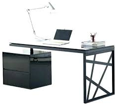 black glass office desk black glass office desk black office tables furniture modern office desk in black glass office desk