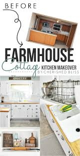 Cottage Kitchen Farmhouse Cottage Kitchen Reveal Cherished Bliss