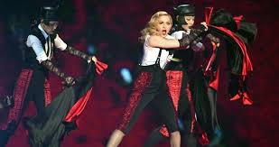 Top 20 Official Chart Madonnas Living For Love Hurtling Towards Official Chart