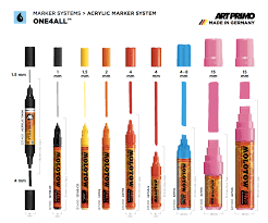 Molotow One4all Color Chart Art Primo One4all Markers Molotow Markers