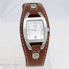 Fossil Women S Belt Size Chart Fossil Ladies Watch Brown Leather Band 1 J Ronda Mvmnt Date