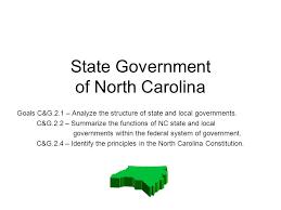 North Carolina State Government Organizational Chart State Government Of North Carolina Goals C G 2 1 Analyze