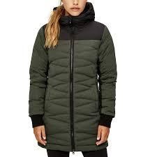 lole faith down jacket women s khaki heather