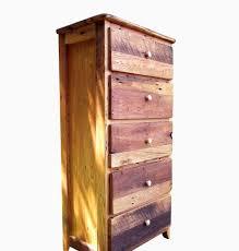 Elegant Tall Dresser For Your Bedroom Design: Handmade Reclaimed Wood Tall  Dresser With 5 Drawer