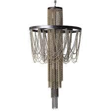 pandora hanging beads metallic chains chandelier