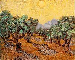 vincent van gogh olive trees 1889