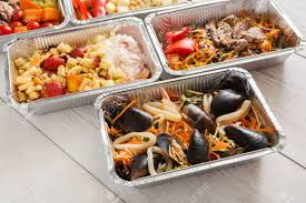 Healthy Seafood Delivery Background ...