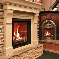 augusta me fireplace