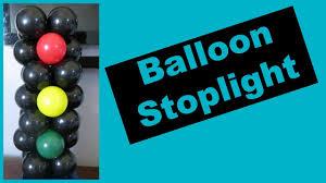 Balloon Stop Light Balloon Stoplight