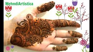 Beautiful Easy Arabic Hinna Mehndi Designs For Hands Simple Arabic Henna Designs For Palm