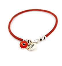 com mizze made for luck women s red leather bracelet with 72 names of protection sterling silver charm jewelry
