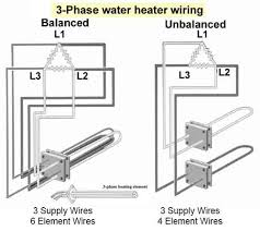 how to wire water heater thermostat 3 phase water heater elements