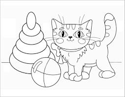 Tuyển tập 55+ mẫu tranh tô màu con mèo đáng yêu và đẹp nhất - Tranh tô màu  cho bé