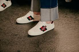 gucci ace. creative director of gucci, alessandro michele is breathing new life into the luxury house with his vision \u002770s vintage styling, gender bending and gucci ace