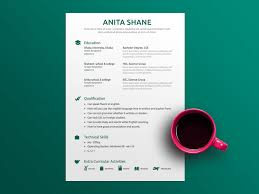 Free Fresh Elegant Resume Template With Simple Design By Julian Ma