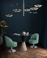 ideas for lighting. This Dining Room Decor Features A Mid-century Chandelier With Arms That Are Adjustable, Allowing You To Create Personalized Looks. Ideas For Lighting