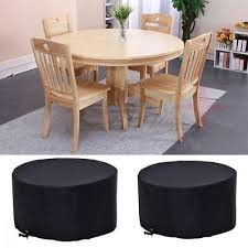 costway 4 6 seat circular table cover large round waterproof patio furniture eur 21 28 pic fr